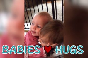 Babies-Love-to-Hug-Adorable-Loving-Babies