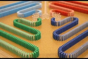 Amazing-COLOR-CHANGING-Dominoes