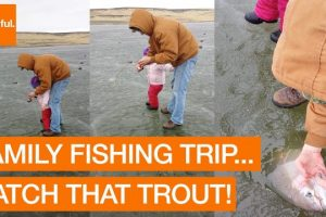 Family-Catch-Rainbow-Trout-During-Ice-Fishing-Trip-Storyful-Crazy