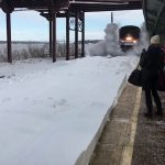Amtrak Snow-mo Collision with Music