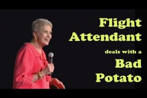 Jeanne-Robertson-Flight-attendant-deals-with-a-bad-potato