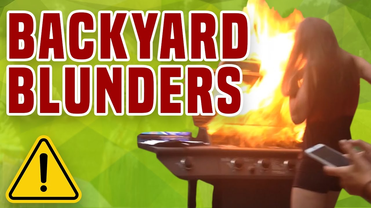 backyard blunders bbq amp party fails � 1funnycom