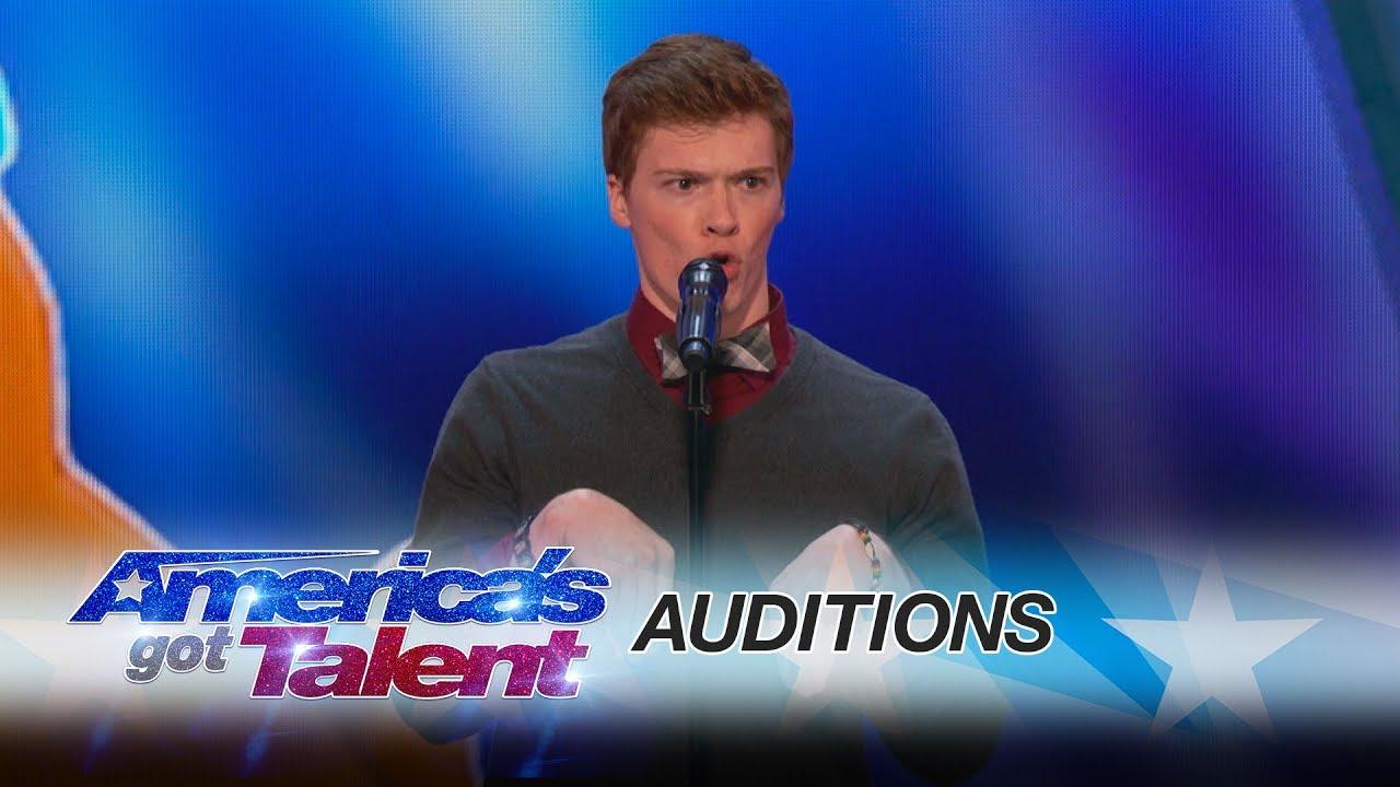 Americas Got Talent 2017 Daniel Ferguson
