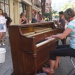 Mom Crushes it on a Street Piano in NYC