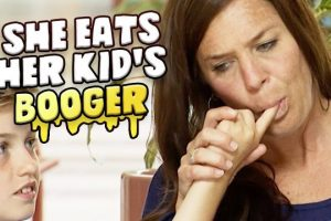 Mom-Snacks-On-Her-Sons-BOOGERS-Prank