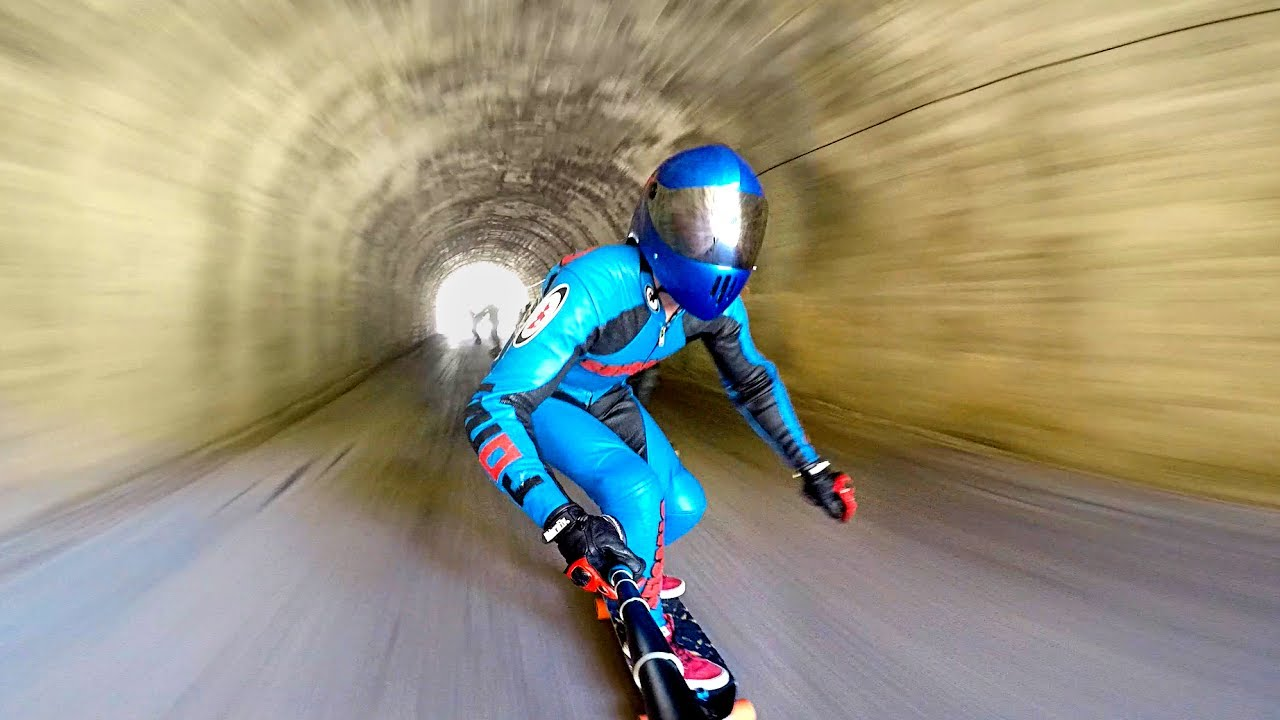 extreme downhill skateboarding � 1funnycom