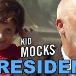 Kid MOCKS Presidential Election // PRANK