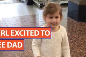 Little-Girl-Excited-to-See-Her-Dad-Video-2017-Daily-Heart-Beat