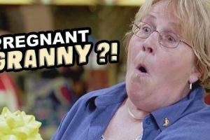 Pregnant-GRANNY-Prank