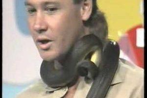 Steve-Irwin-Greatest-TV-event.-Rare-Snake-Bite.-Sunshine-TV