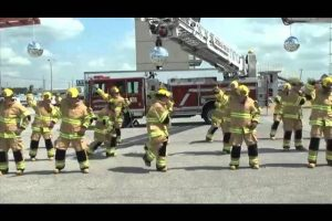 Firefighter-Flash-Mob-Stayin-Alive