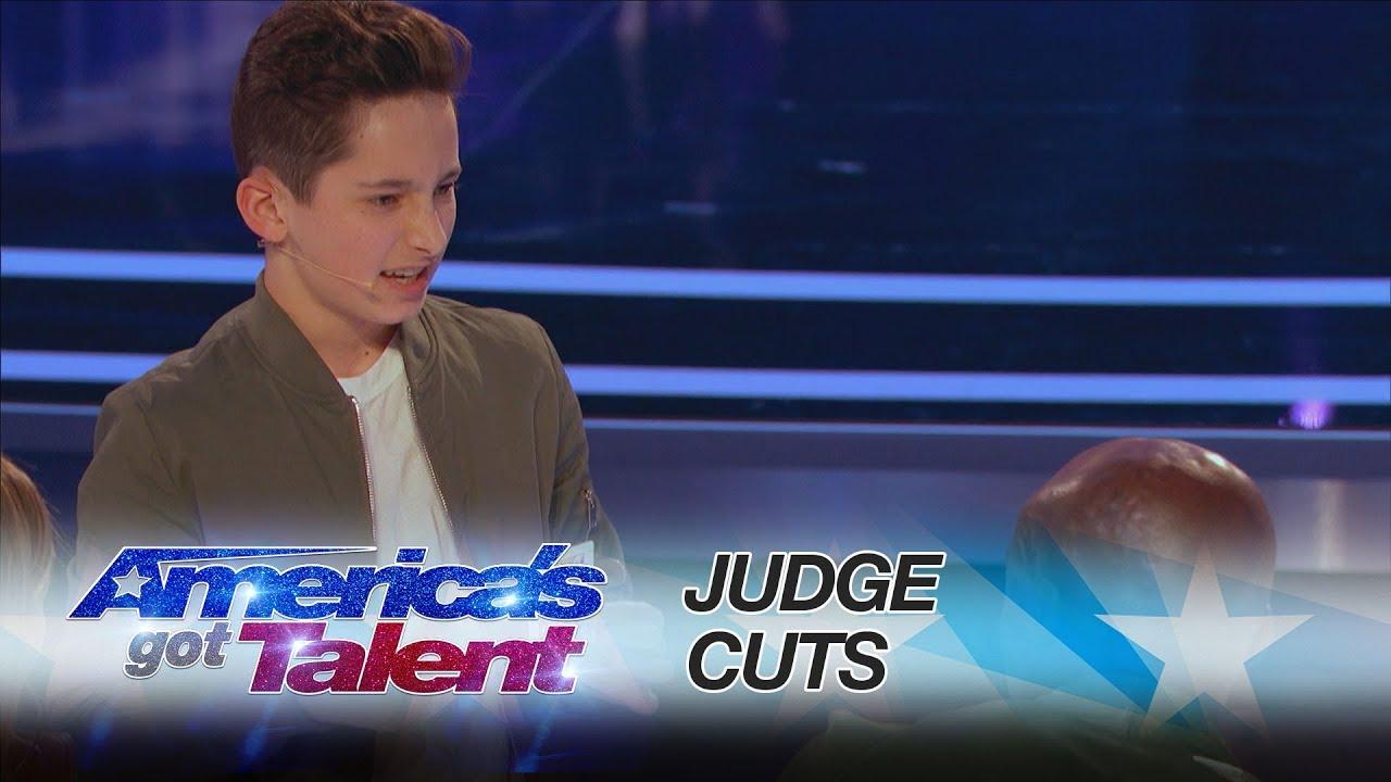 Americas Got Talent Young Magician