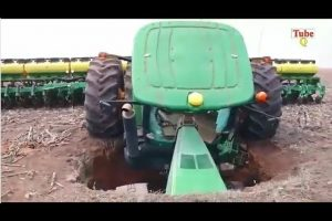 Amazing-Tractor-Fails-Amazing-Tractor-Stuck-In-Mud-Compilation