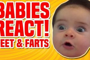 Babies-React-To-Feet-and-Farts-Best-Baby-Reactions