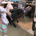 Grandpa Fluent in Baby Talk