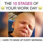 The 10 Stages of Your Work Day