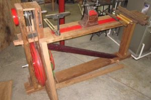 The-Foot-Powered-Treadle-Lathe