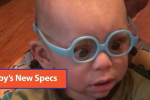 Baby-Wears-Glasses-For-The-First-Time