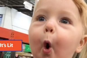 Toddlers-HILARIOUS-Reaction-To-Holiday-Decorations