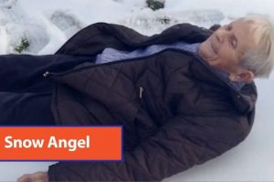 85-Year-Old-Snow-Angel