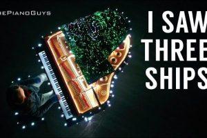 88-Piano-Keys-Control-500000-Christmas-Lights-I-Saw-Three-Ships-The-Piano-Guys