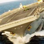 Fast Moving Aircraft Carrier