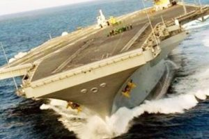 Amazing-Aircraft-Carrier-High-Speed-Turns-Drifting-US-Aircraft-Carrier-Evasive-Action-Maneuver