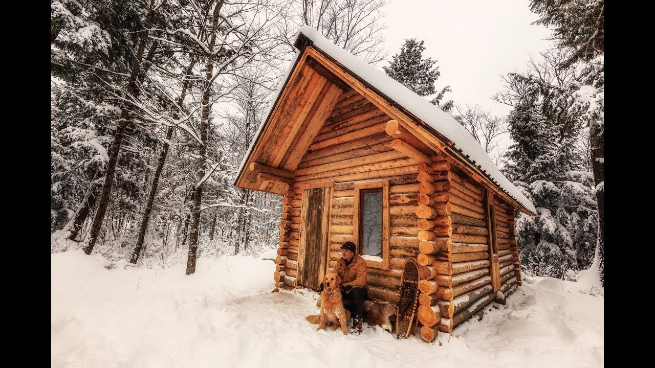 Hand-Building a Log Cabin from Scratch – 1Funny com