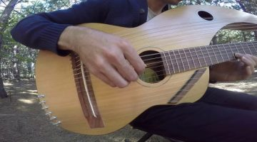 The-Sound-of-Silence-18-String-Harp-Guitar-Cover