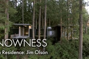 In-Residence-Jim-Olson-inside-the-architects-treetop-house