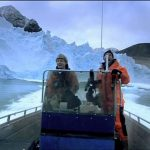 Getting Too Close to a Collapsing Arctic Glacier