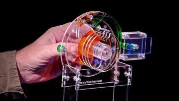Combination-Lock-as-a-Mechanical-Gif-diagram-like-laser-cut-acrylic-model