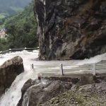 Driving Through a Dangerous Waterfall