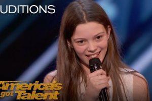 13-Year-Old Golden Buzzer Winning Performance