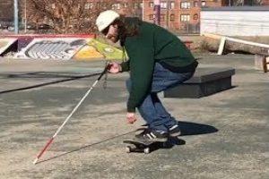 A-Blind-Skateboarder