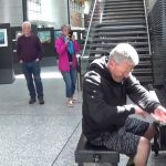 Random Passenger Rocks the Cork Airport Piano