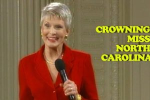 Crowning Miss North Carolina – Jeanne Robertson