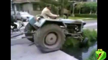 Idiots on Tractors!
