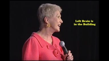 Left Brain Is in the Building – Jeanne Robertson