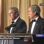 Steve Bridges – As George W. Bush with George W. Bush!