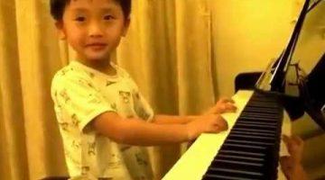 4-Year-Old Piano Prodigy