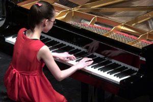 Asta Dora Finnsdottir, 11 Year Old Piano Prodigy