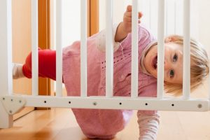 Funny Baby Climbing Over Baby Gate Compilation