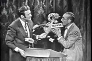 Jack Benny vs. Groucho 1955