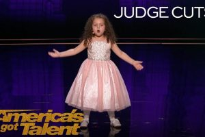 """Sophie Fatu: AGT's Youngest Performer EVER Sings """"New York, New York"""""""