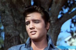 Elvis sings Gotta Lotta Living To Do