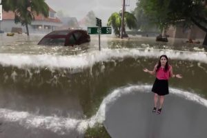 What It's Like Being in a Flood