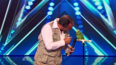 Joe the Birdman & Tika Talking Bird