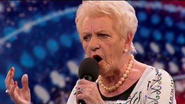 80-year-old Singer Janey Cutler