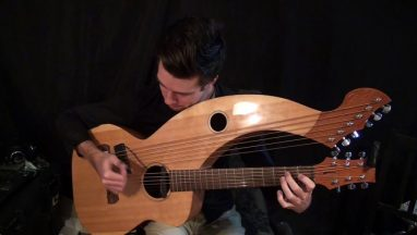 Hotel California (Eagles) – Harp Guitar